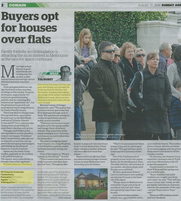 The Age - 17 August 2014
